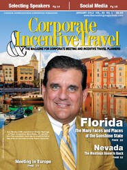 Corporate and Travel Incentive Travel magazine