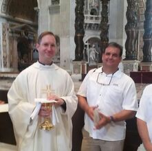 Dan Meister and Fr. Thomas at Vatican