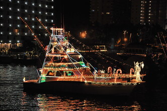 decorated boat